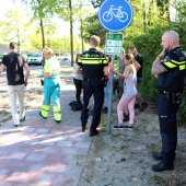Ongeval Oosteinderlaan/Weeresteinstraat Hillegom