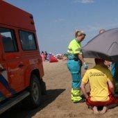 Inzet NRB strand afrit 18 Noordwijk
