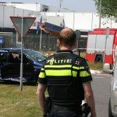 Ongeval Zwarteweg / Keplerlaan Noordwijk