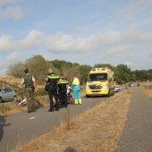 Fietser raakt gewond bij val met fiets Langevelderslag Noordwijk
