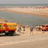 Inzet KNRM Katwijk Uitwatering