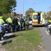 Scooterrijder gewond na botsing Rijksstraatweg Sassenheim