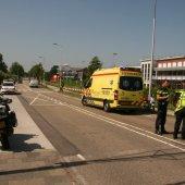Ongeval trein / fietser spoorwegovergang Sassenheim