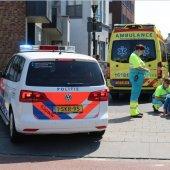 Vrouw komt ten val met haar fiets Victoriberg / Zeestraat Noordwijkerhout