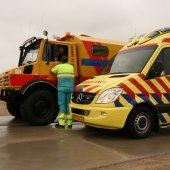 Persoon te water noordzee Noordwijk