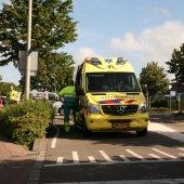 Ongeval fietser met auto Gooweg Noordwijkerhout