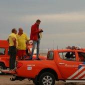 Zwemmer in problemen blijkt kanoër die zit te vissen Noordwijk