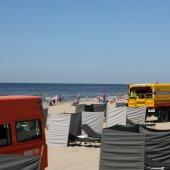 Inzet NRB ter hoogte van Branding Beach in Noordwijk