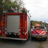 Nacontrole brand duingebied Noordwijk