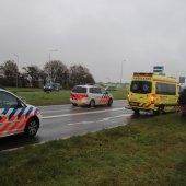 Man komt ten val met electrische fiets van Berckelweg N444 Noordwijk