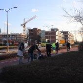 Fiets breekt in tweeen Katwijk