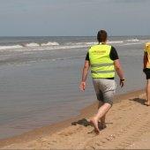 Reddingsbrigade assisteert bij grote zoekactie op zee Katwijk