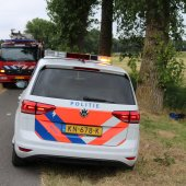 Vloeistoffen aangetroffen Menneweg Sassenheim