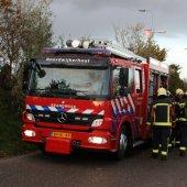 Brand bijgebouw Gooweg Noordwijkerhout