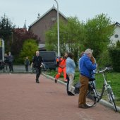 Traumaheli inzet Waterkers Rijnsburg
