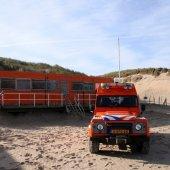 Nieuwe strandpost 3 voor de NRB aan de Langevelderslag
