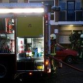 Berging brandt uit Nassadreef Katwijk