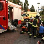 Man bekneld met vinger in auto Goudenregenstraat Noordwijk