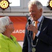 Koninklijke onderscheiding voor Jan van Went als vrijwilliger van de Noordwijkse Reddingsbrigade.